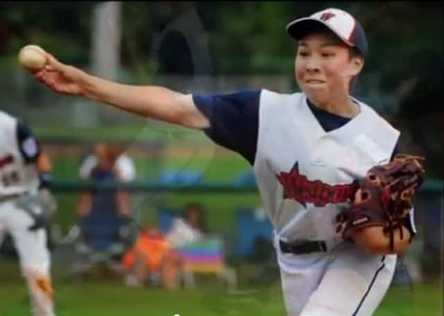 Pitcher Chad Knight and the Westport Little League All-Stars play their first game at the Little League World Series on Thursday.