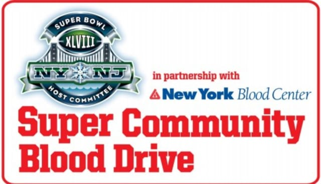 Donors are eligible for Super Bowl XLVIII tickets