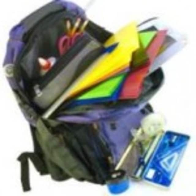 """Sharing Shelf of Family Services Of Westchester is holding its third annual """"Backpacks to School"""" drive."""