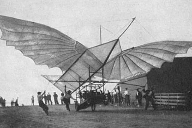 Gustave Whitehead's Albatros is credited with the first manned flight more than two years before the Wright brothers.
