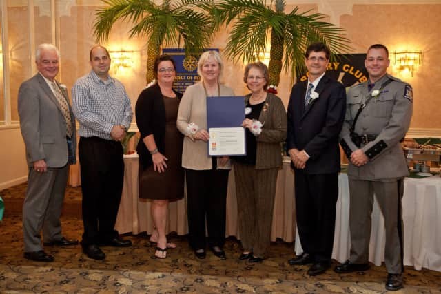 The Cortlandt Manor Rotary Club recently presented awards to the top businesses and residents in town.