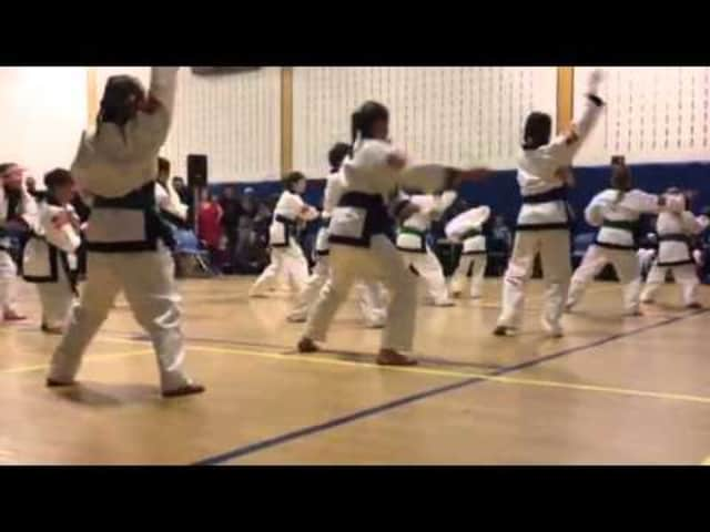 Karate is one of many classes available this fall through the Pelham Recreation Department.