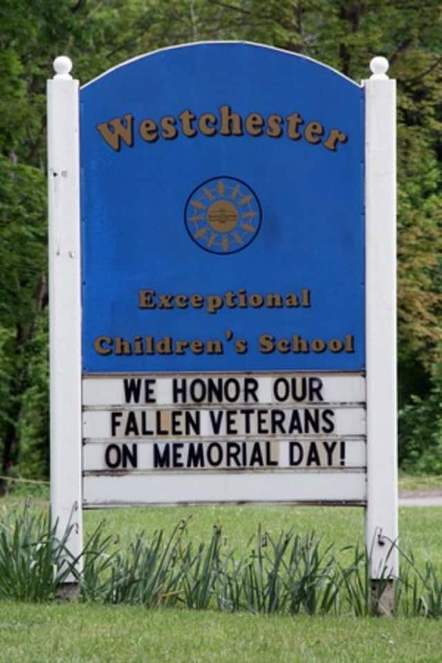 The Westchester Exceptional Children's School in North Salem is hosting its first tag sale this weekend.
