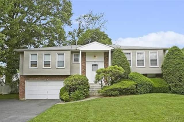 This house at 214 Waverly Road in Scarsdale is open for viewing this Sunday.