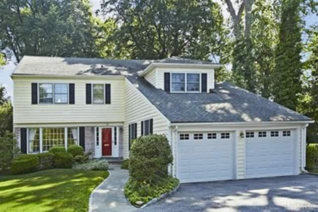 This house at 24 Courseview Road in Bronxville is open for viewing this Saturday.