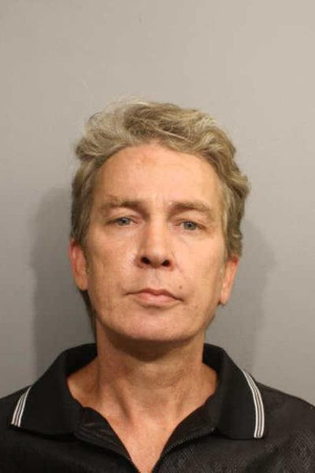 New York resident Vincent Waldron is accused of exposing himself to a 15-year-old girl in Wilton.