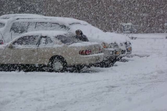 Parking on town roads may be banned in Monroe to help plowing efforts on Saturday, said First Selectman Steve Vavrek.