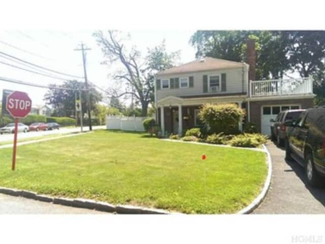 This house at 1 Wendover Road in Eastchester is open for viewing this Sunday.
