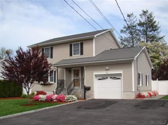 This house at 52 Clinton Avenue in Pleasantville is open for viewing this Saturday.