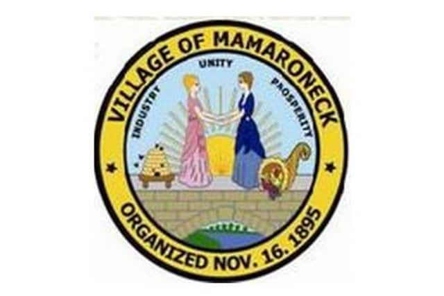 A third party inspector is in the hospital after being injured at a Mamaroneck Village construction site.