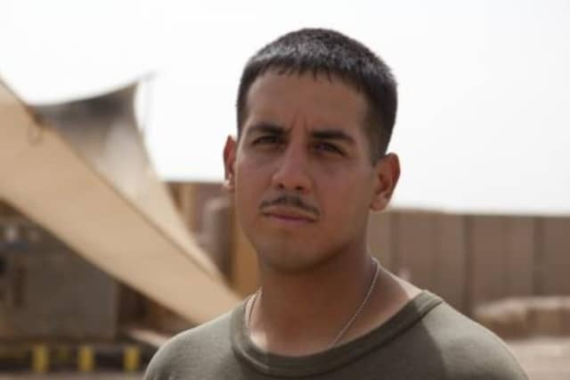 Marine Cpl. Juan C. Mejia, of Tarrytown, is featured on the Defense Video and Imagery Distribution System website.