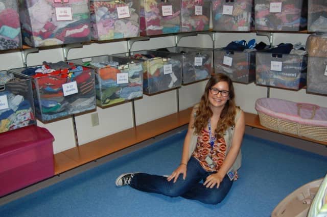 Julia Desmarais launched a clothing drive to assist Blythedale Children's Hospital as part of her effort to receive a Gold Award from Girl Scouts.