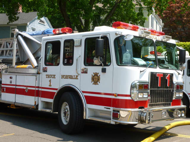 The Norwalk Fire Department is collecting toys for the Human Services Council this holiday season