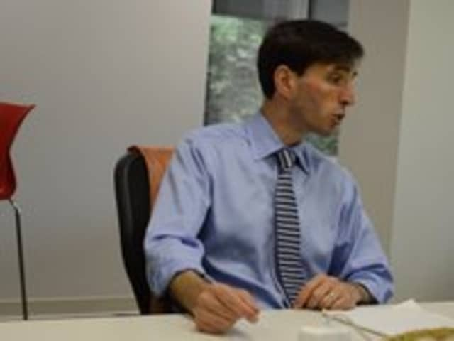 Noam Bramson met with The Daily Voice editorial team this week.