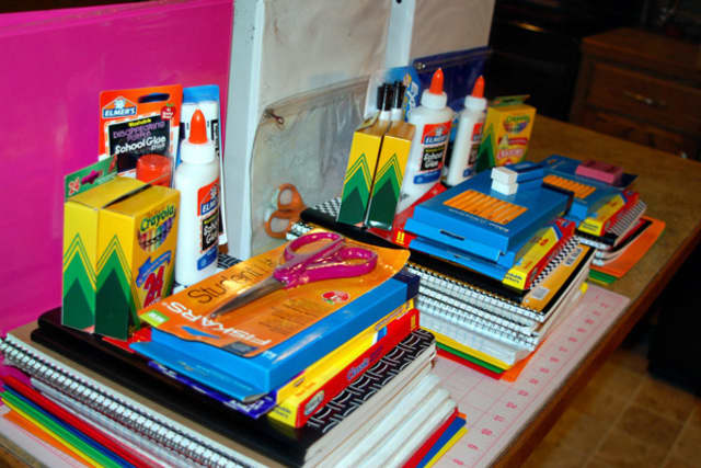 Houlihan Lawrence is sponsoring a drive to collect back-to-school supplies.