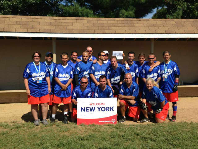 The Hudson Valley Region of New York Special Olympics Unified Softball Team took third place in the Special Olympics Unified Softball Tournament.