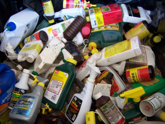 The Bergen County Utilities Authority is collecting hazardous waste.