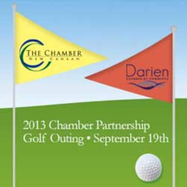 The New Canaan and Darien chambers of commerce are co-hosting a golf outing next month.