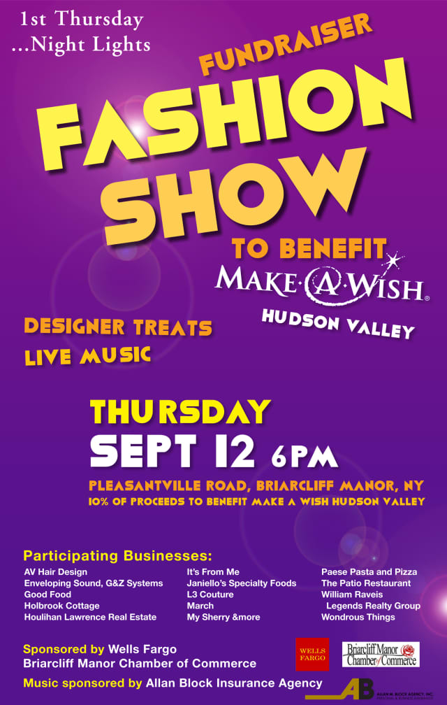 The Briarcliff Manor Chamber will host a fashion show Sept. 12.