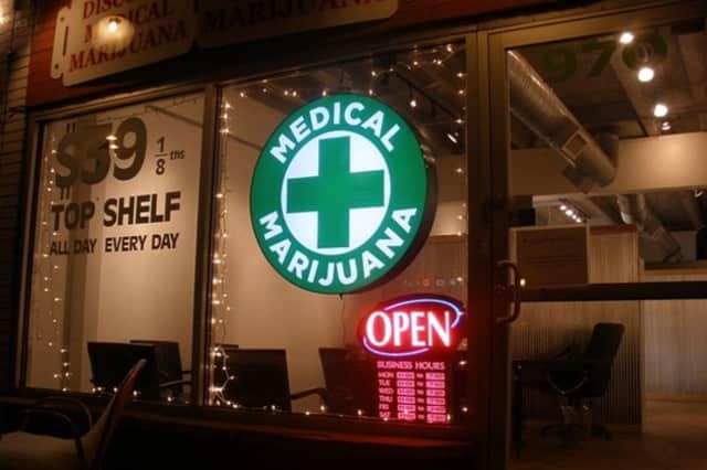 The only medical marijuana dispensary in Fairfield County is in Bethel.