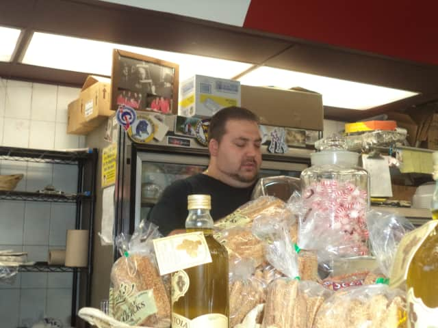 Dan Sansotta, co-owner of Sansotta Brothers Deli in Cortlandt, is excited about the brothers second deli, which is set to open later this month.