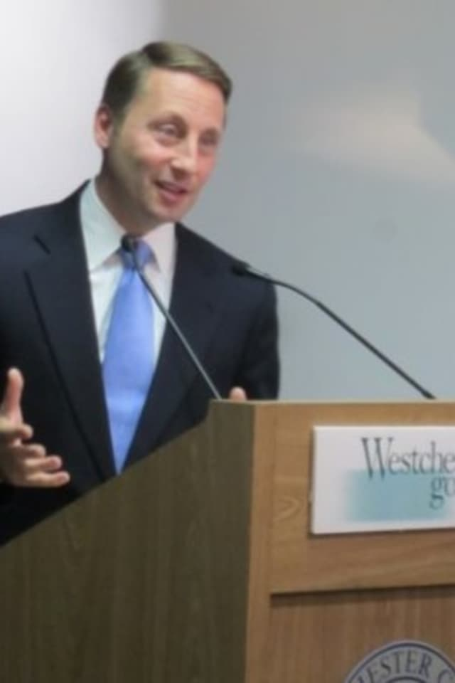 Comments made by County Executive Rob Astorino topped the news in Pound Ridge this week.