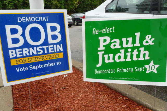Town of Greenburgh Democratic Party candidates will square off in a debate Tuesday in Hastings.