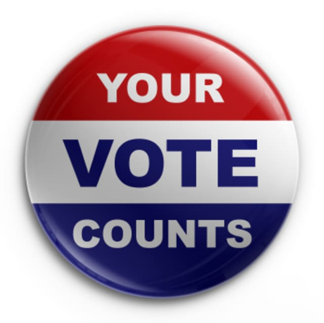Polls in Bedford for the primary election open at 6 a.m. and close at 9 p.m.