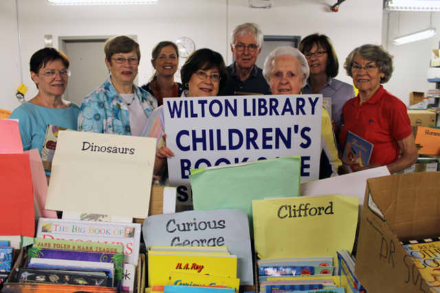 The Wilton Library will host its Tots to Teens Book Sale from Sept. 6 through Sept. 8