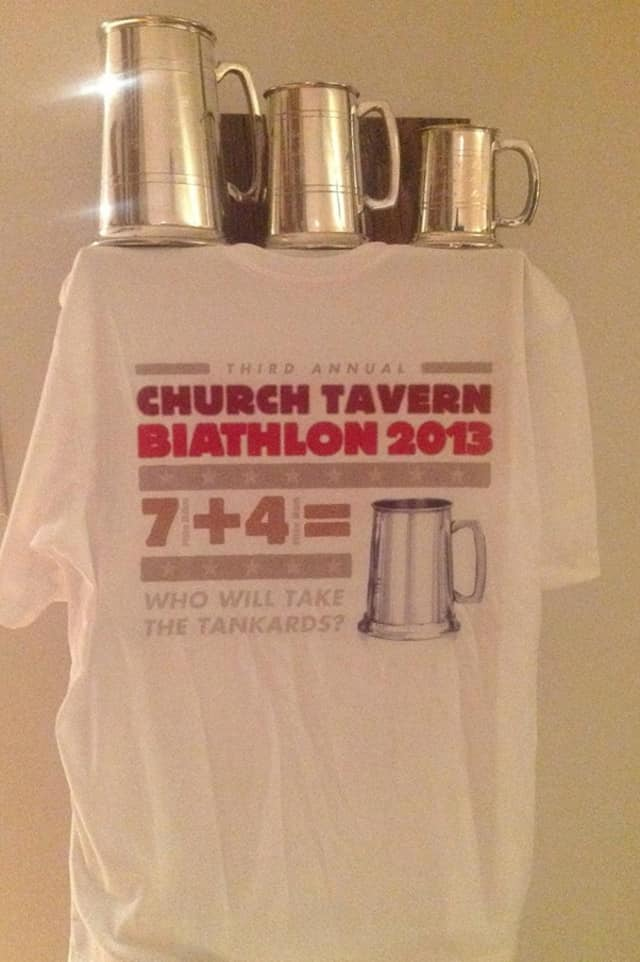Check out the results from Monday's Church Tavern Biathlon.