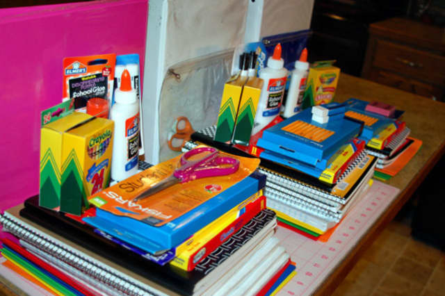 Donations of school supplies are needed in a drive sponsored by Houlihan Lawrence.