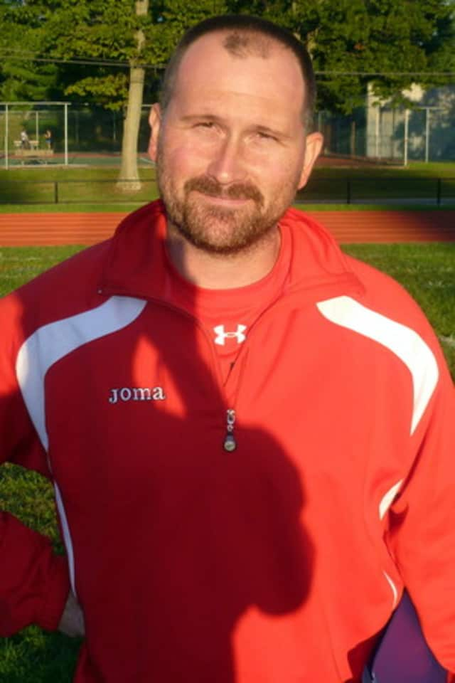 JR Pouncey, the coach of Fox Lane varsity soccer, is hoping for a rebound from the team's 2-13 season last year.