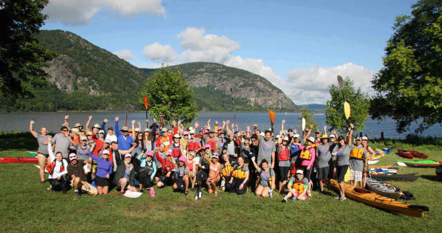 The Hudson River Watetrail Association in Peekskill will travel 11 miles to Cold Spring Sunday to raise money for Yorktown's Support Connection, a cancer support group in Westchester.