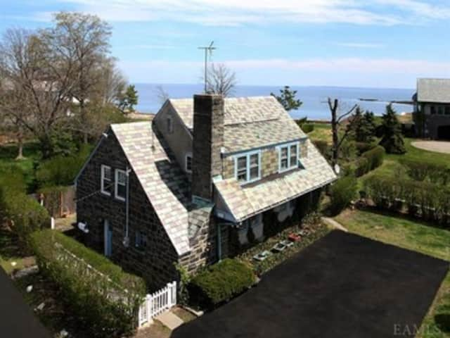 This house at 12 Pine Island Road in Rye is open for viewing this Sunday.