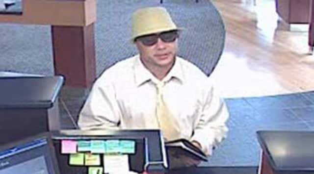 Greenwich Police are searching for a suspect that is connected to three bank robberies.