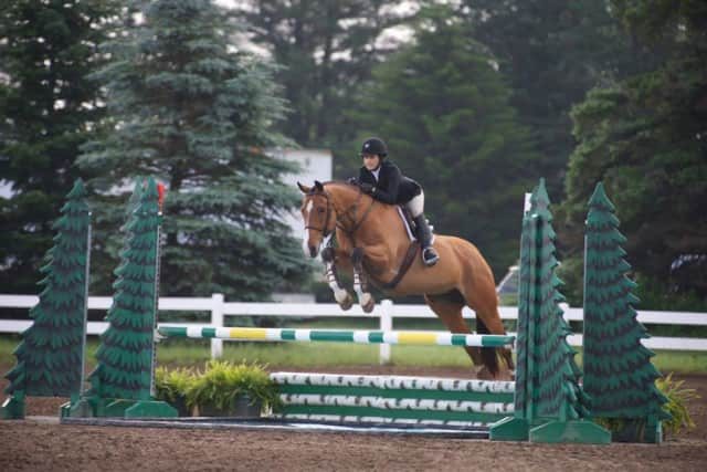 The American Gold Cup equestrian event comes to Old Salem Farm in North Salem on Wednesday.