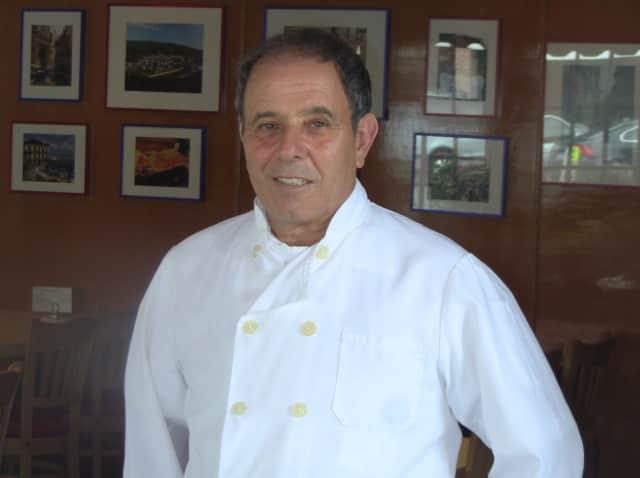 Chef Frank Salvi dishes out Italian delights at Di Nardo's Ristorante Italiano in Pound Ridge.