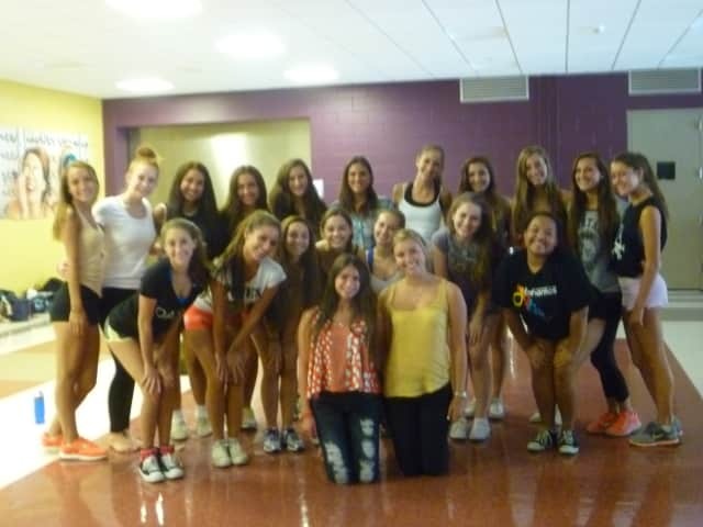 The Fox Lane dance team is looking forward to its fall 2013 campaign.