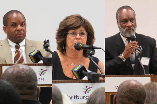 The three Mount Vernon city council primary winners.