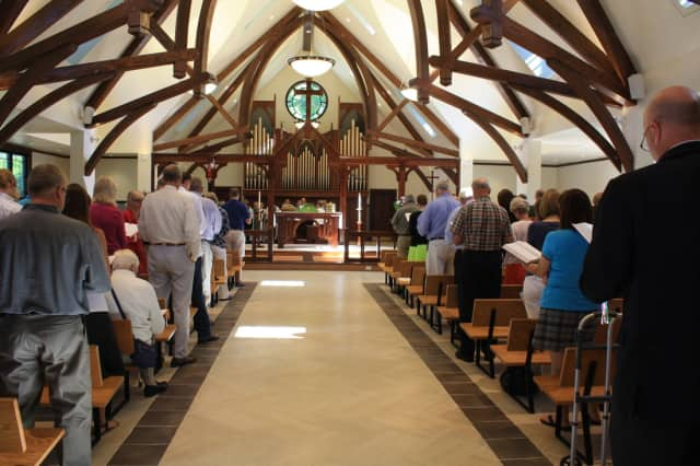 St. Andrew's Lutheran Church will hold an open house for its new sanctuary on Saturday.