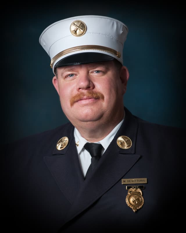 Michael De Vittorio has been elected to the board of trustees of the Firemen's Association of the State of New York Firemen's Home.