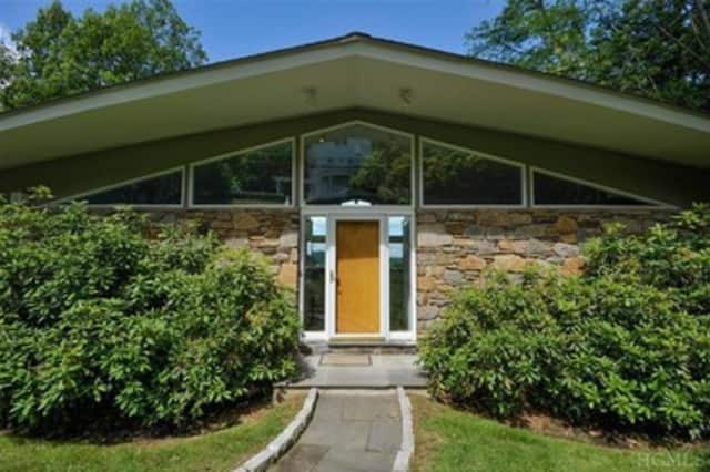 This house at 65 Southlawn Ave. in Dobbs Ferry is open for viewing this Sunday.