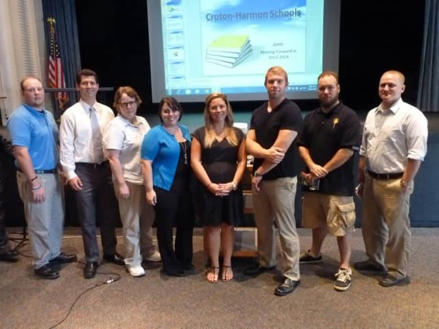 Croton-Harmon School District's new faculty members.
