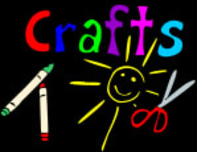 All children are invited to come to the Harrison library on Thursday to make a craft to take home.