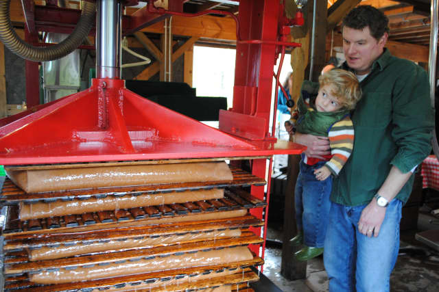 The New Canaan Nature Center will host Cider Saturday this weekend.