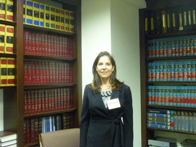 Shari Gordon is hoping to become the first female justice in Cortlandt's 225-year history.