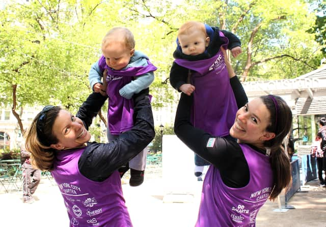 Fairfield County Moms are encouraged to join a nine-week fitness program hosted by the Leukemia and Lymphoma Society of Wilton.