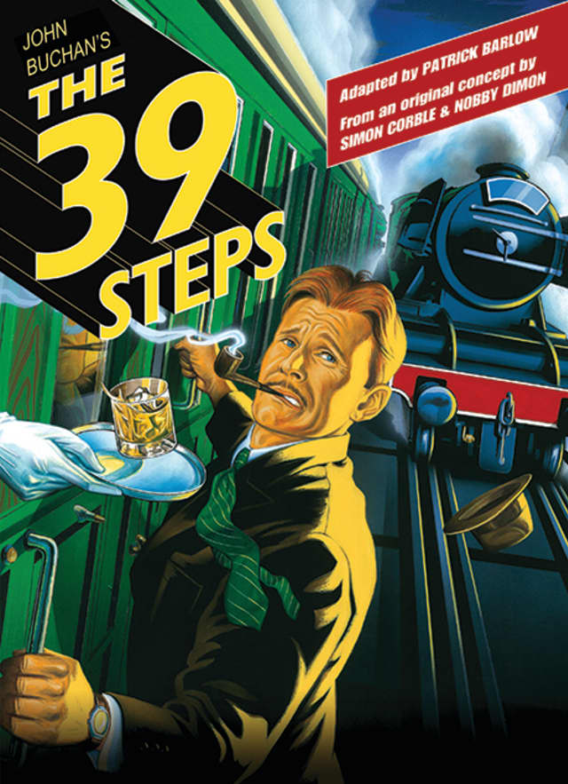 """The White Plains Performing Arts Center is set for the production of """"The 39 Steps,"""" a show featuring five actors performing 150 characters."""