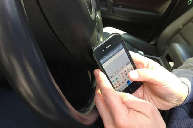 Wilton residents are being called upon to take the pledge to never text and drive.