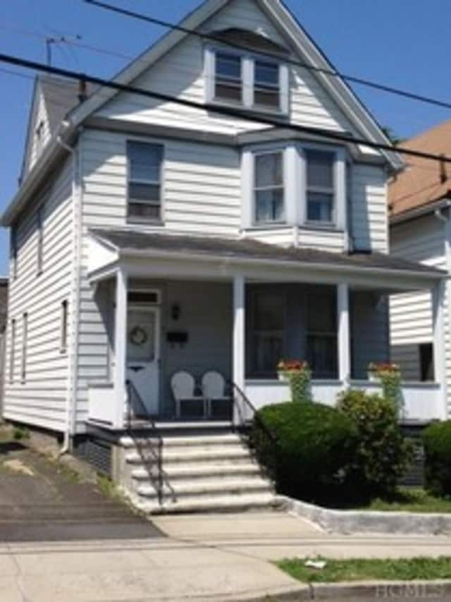This house at 31 Lawrence Ave. in Sleepy Hollow is open for viewing this Sunday.